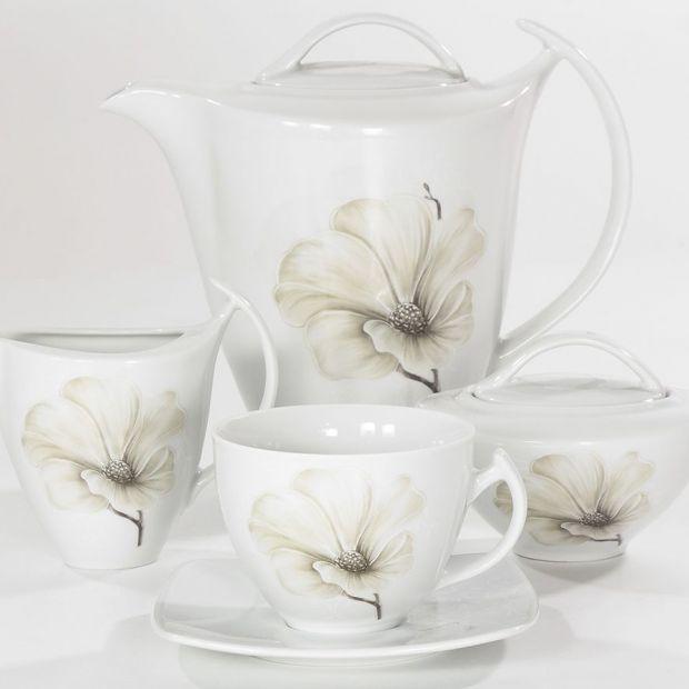 Piękna porcelana - kolekcja z motywem kwiatowym