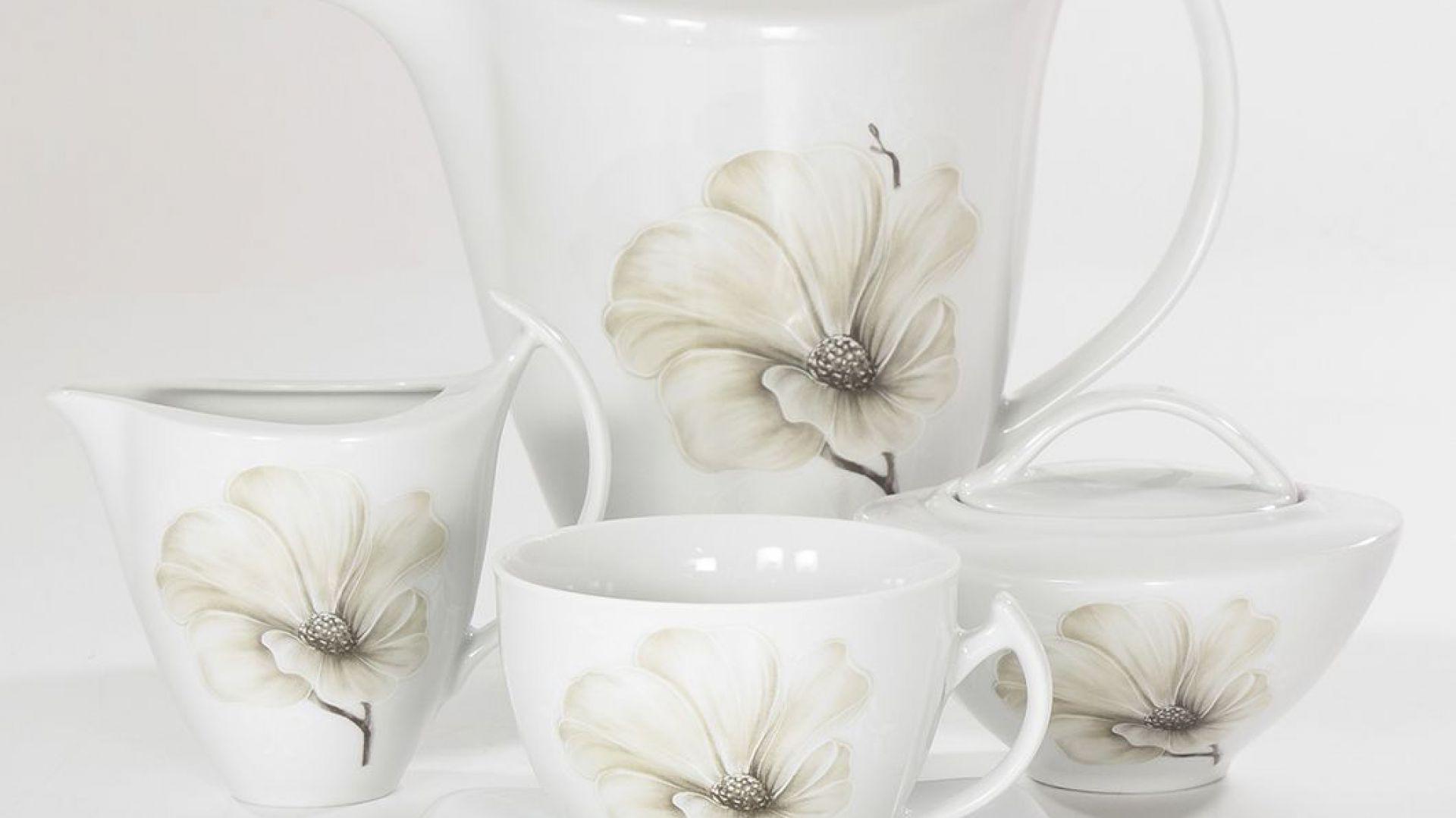 Kolekcja Magnolia. Fot. Polskie Fabryki Porcelany Ćmielów i Chodzież