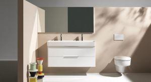 Zaprojektowana przez wybitnego projektanta Konstantina Grcica, kolekcja Val wzbogaciła się o model umywalki z dwoma otworami na baterie.