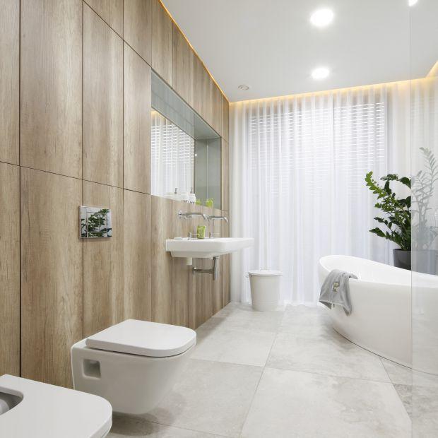 Łazienka w nowoczesnym stylu - piękny projekt wnętrza