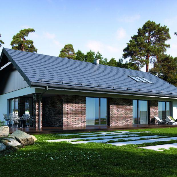 Nowoczesny funkcjonalny i energooszczędny - piękny projekt domu