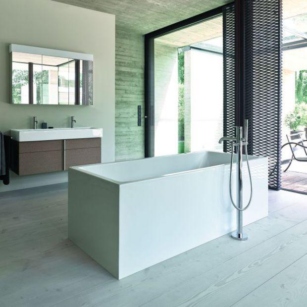 Wyposażenie łazienki - nowa seria inspirowana geometrią