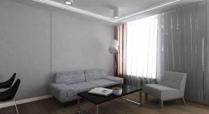 Kawalerkę na Śródmieściu w Warszawie zaaranżowano wnowoczesnym stylutypu studio. Ograniczenie się do odcieni szarości i chłodnego beżu nadało przestrzeni minimalistyczny charakter.