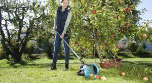 Wraz z nadejściem lata rozpoczął się również sezon zbierania owoców z drzew. Te, które nie rosną dostatecznie nisko można zerwać przy pomocy specjalnych urządzeń ogrodowych.