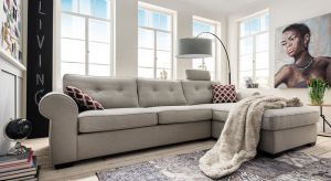 Komfortowy, dobrze zaprojektowany, ale także pięknym…Taki salonjest prawdziwym azylem – miejscem odpoczynku, relaksu z rodziną.