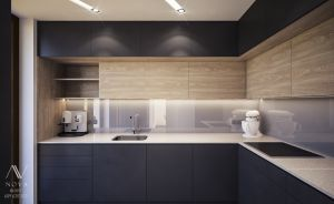 Projekt zabudowy kuchni.