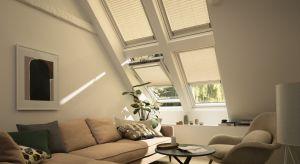 Sterowana elektrycznie, elegancka i dekoracyjna roleta plisowana VELUX przepuszcza do pomieszczenia delikatne i miękkie światło, tworząc we wnętrzu wielowymiarowe efekty świetlne. Produkt zgłoszony do konkursu Dobry Design 2018.