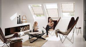 Rolety rzymskie VELUX to pierwsze na rynku rolety do okien dachowych z wymienną tkaniną. Są eleganckie i dekoracyjne, a ich innowacyjna konstrukcja pozwala na szybką zmianę dekoracji okna, kiedy tylko chcemy. Produkt zgłoszony do konkursu Dobry Desi