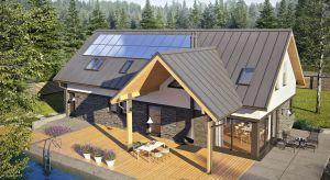 Nikolas II G2 Energo Plus to 160-metrowy dom, który będzie spełnieniem marzeń wszystkich miłośników nowoczesnej architektury.