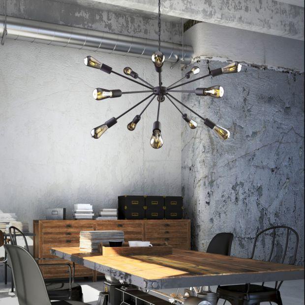 Industrialne lampy sufitowe – nowa kolekcja