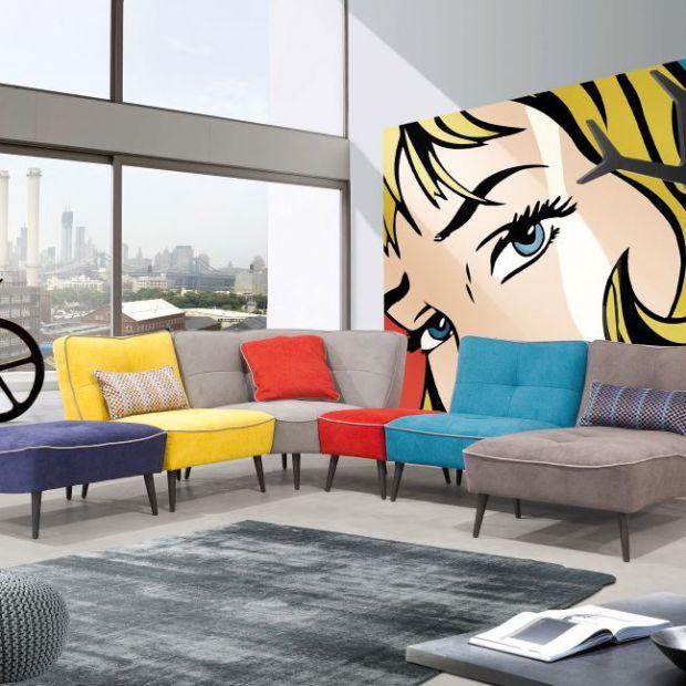 Sofa do salonu. 10 ciekawych modeli