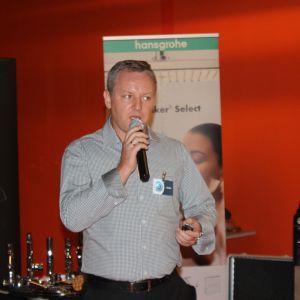 Dariusz Jęrzejczak, kierownik działu handlowego i marketingu w firmie Mochnik, przybliżył nowości marki Colorimo