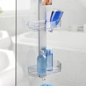Półka łazienkowa Caddy Premium, regał pod prysznic Wenko. Fot. Emako.pl