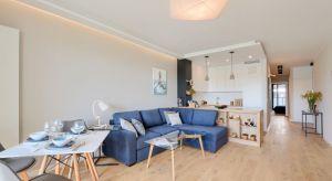 Fiński design, łazienka z sauną oraz najwyższa jakość wykonania – tak przedstawia się apartament pokazowy w Nordic Mokotów.