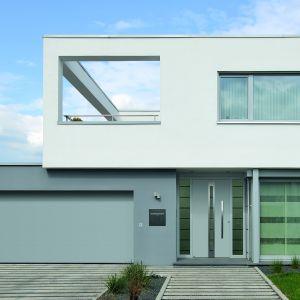 Aluminiowe drzwi wejściowe ThermoCarbon/Hörmann. Produkt zgłoszony do konkursu Dobry Design 2018.