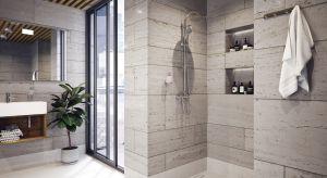 Przestronne łazienkowe wnętrze sprawia, że podczas codziennej toalety czujemy się naprawdę komfortowo. Wygodę zapewnia również interesujący rozkład pomieszczenia.
