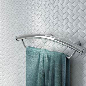 Uchwyt Vital z miejscem na ręcznik (NIV 041H)/Deante. Produkt zgłoszony do konkursu Dobry Design 2018.