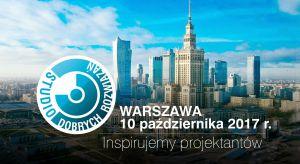 10 października zapraszamy na kolejne spotkanie z cyklu Studio Dobrych Rozwiązań. Tym razem czekamy na was w Warszawie. Gościem specjalnym spotkania będzie arch. Marta Sękulska-Wrońska, współwłaścicielka warszawskiej pracowni WXCA.