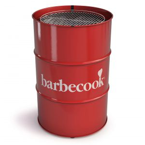 Grill Edson to innowacyjny grill węglowy w formie beczki. Fot. Barbercook