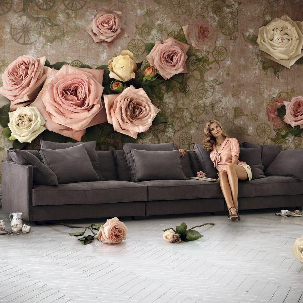 Sofa w salonie. Piękne modele w jesiennych barwach