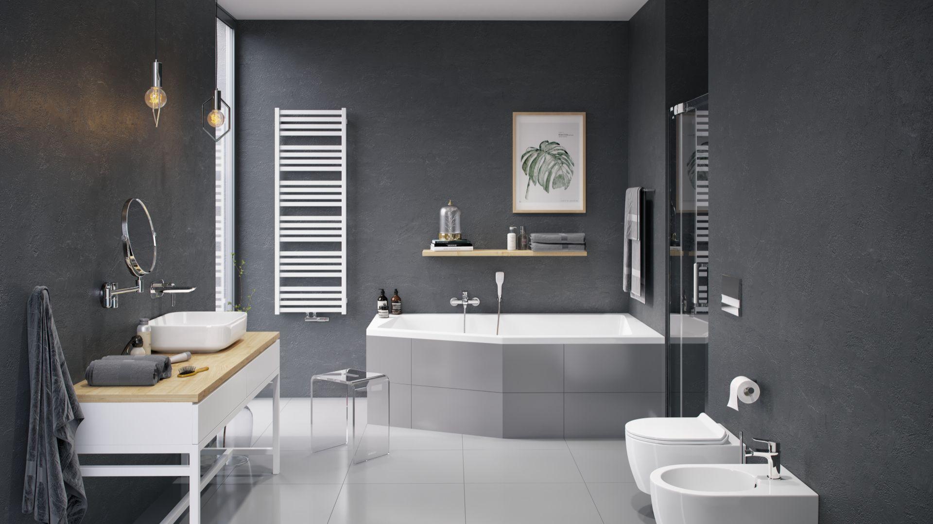 Armatura łazienkowa z serii Clever/Excellent. Produkt zgłoszony do konkursu Dobry Design 2018.