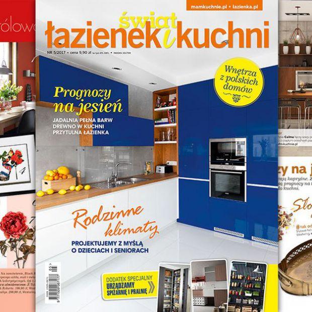 Świat Łazienek i Kuchni (5/2017) - nowy numer już w sprzedaży