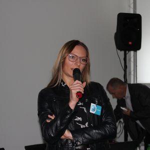 O trendach podpatrzonych na największych światowych targach opowiadała również Magdalena Smuś z działu rozwoju produktu marki Ceramika Paradyż