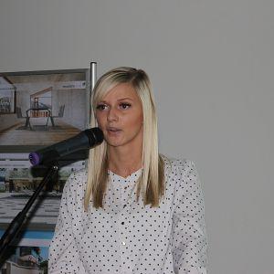 Marta Zaraś reprezentowała na naszej scenie markę Colorimo i firmę Mochnik
