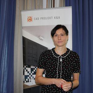 Studio Dobrych Rozwiązań we Wrocławiu - Anna Spalony na stoisku CAD Projekt