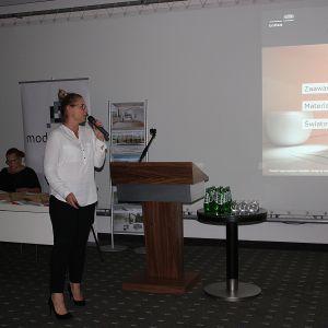Emila Cichocka, A&D relations manager Poland DuPont reprezentowała markę Corian