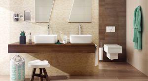Niektóre odcienie cieszą się modą sezonową, inne są po prostu ponadczasowe, tak jak beże i brązy. To nadal jedne z najpopularniejszych kolorów, w których Polacy najchętniej urządzają swoje łazienki.