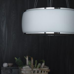 Okap wyspowy Soffio/Falmec. Produkt zgłoszony do konkursu Dobry Design 2018.