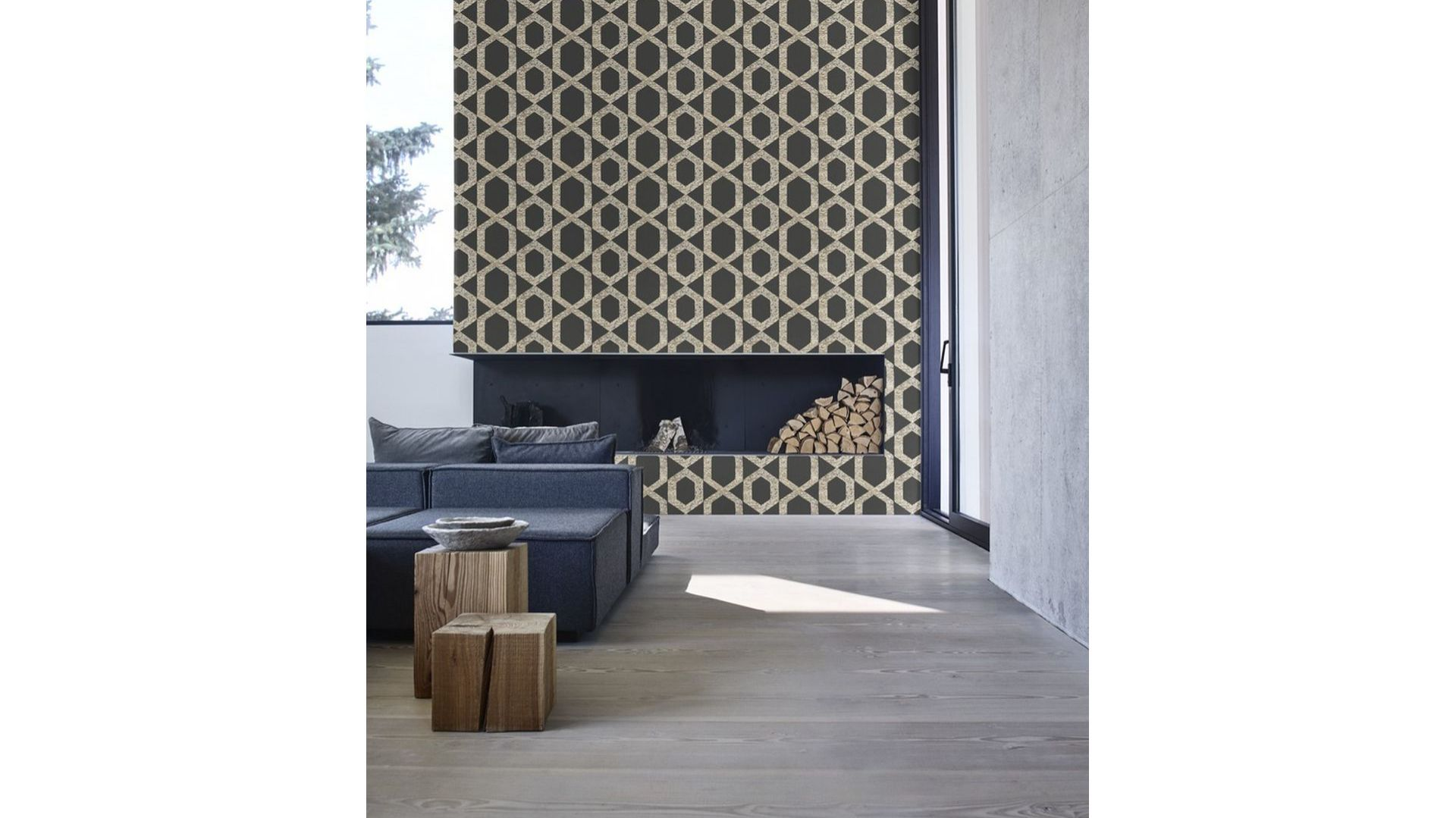 Kolekcja tapet Six Senses/Flügger farby. Produkt zgłoszony do konkursu Dobry Design 2018.