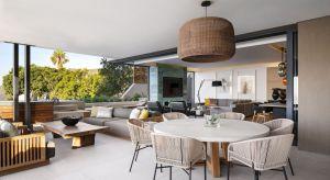 Piękne wnętrze w Kapsztadzie łączy w sobie elementy eklektyczne z azjatyckim designem. Inwestor – kawaler z Johannesburga postawił na nowoczesność i komfort.