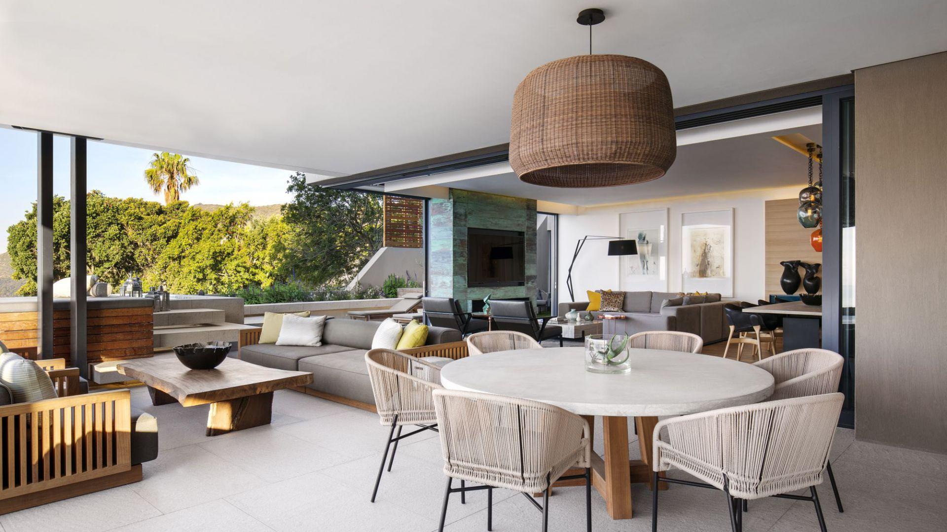 Piękny apartament z widokiem na ocean: wnętrze z Południowej Afryki