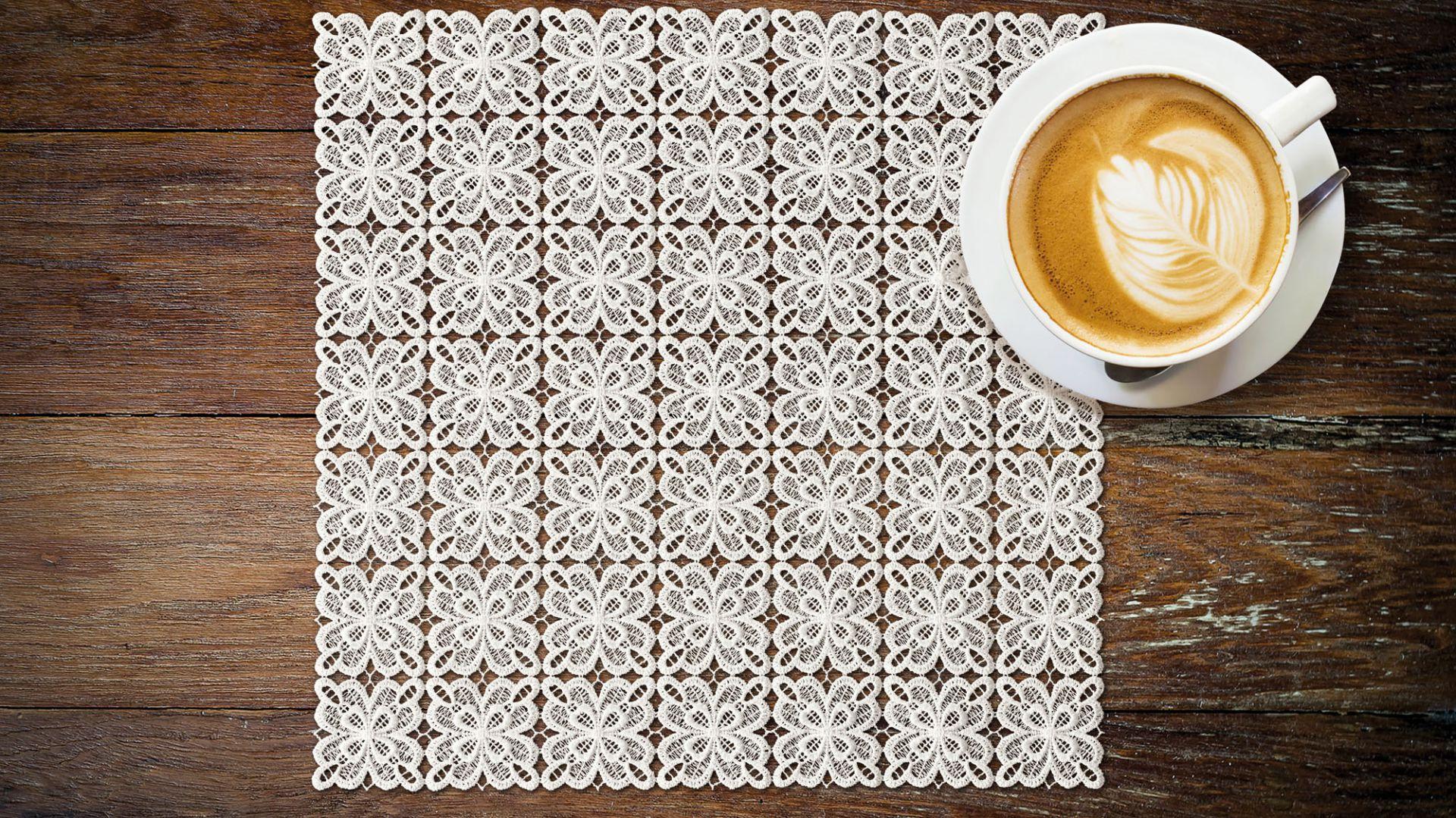 Pleny gipiurowe/Haft. Produkt zgłoszony do konkursu Dobry Design.
