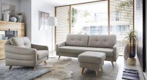 Niezwykle elegancka i wygodna sofa, która doskonale sprawdzi się we wnętrzu urządzonym na styl klasyczny.