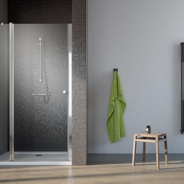 Pomysł na komfortową wnękę - drzwi prysznicowe