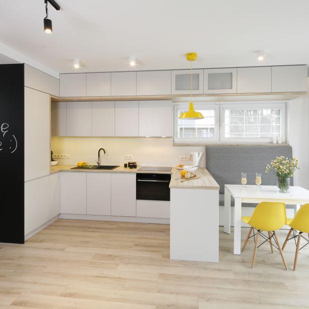Kuchnia z jadalnią - zobacz piękny projekt wnętrza