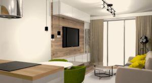 Mieszkanie w Ząbkachurządzono w nowoczesnym stylu. Zobaczcie piękne wnętrze.