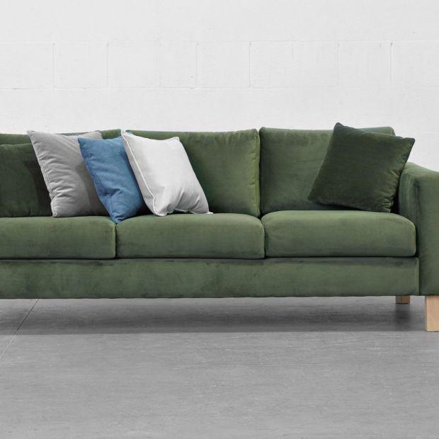 Sofa Kera/Black Red White