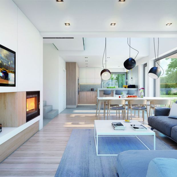 Dom dla rodziny: zobacz jak można urządzić 140 metrów