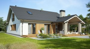 Judyta to nieduży, parterowy dom o powierzchni blisko 120 metrów, zaprojektowany z wyjątkową dbałością o każdy szczegół.