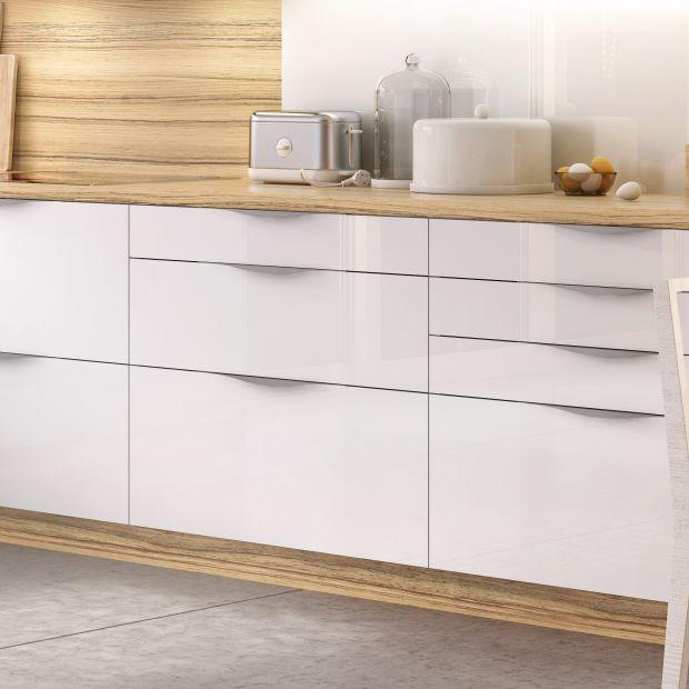 Nowoczesna kuchnia:  szuflady zamiast szafek