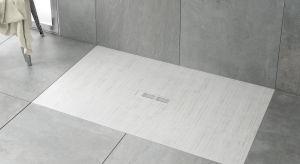 Ultrapłaskie prostokątne brodziki kompozytowe Helios, wykonane z innowacyjnego konglomeratu STONEX®, opracowanego przez firmę Roca, zawierającego rozdrobnione skały dolomitowe. Produkt zgłoszony do konkursu Dobry Design 2018.