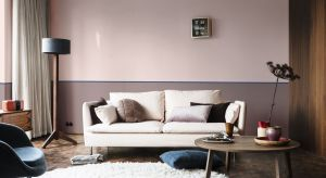 Różowy a brąz, czyli subtelny i ciepły odcień różu, który nawiązuje do naturalnego drewna oraz skóry i łączy komfort oraz lekkość to Kolor Roku Dulux 2018.
