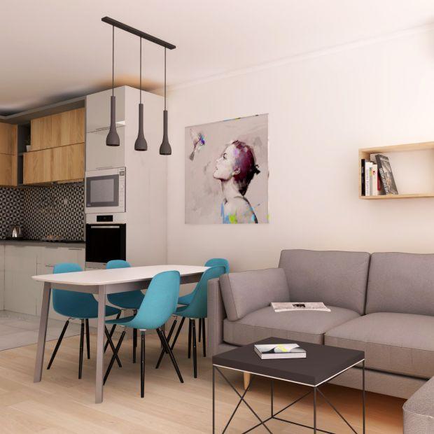 Mieszkanie dla dwojga - pomysł na aranżację
