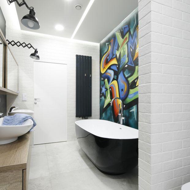 Nowoczesna łazienka - zobacz gotowy projekt wnętrza