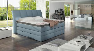 Łóżka kontynentalne to oryginalna propozycja dla osób lubiących podkreślać swój indywidualizm.