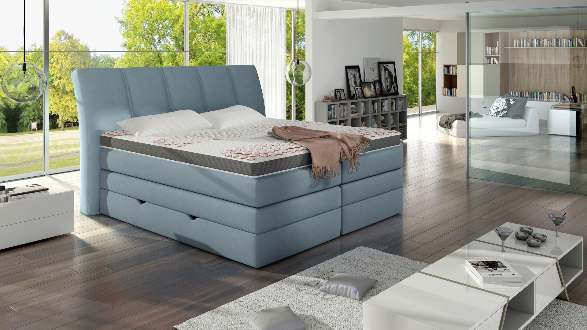 Łóżko kontynentalne Korfu. Fot. Comforteo